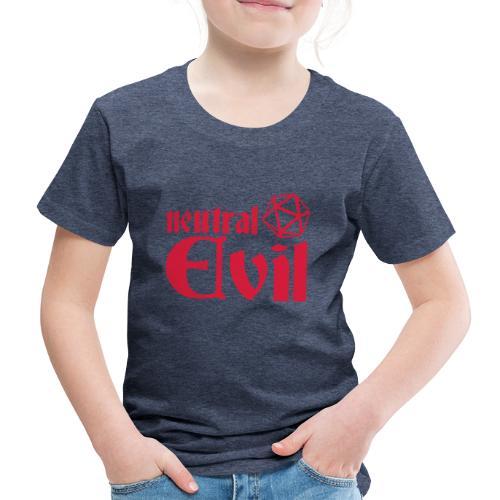 neutral evil - Kids' Premium T-Shirt