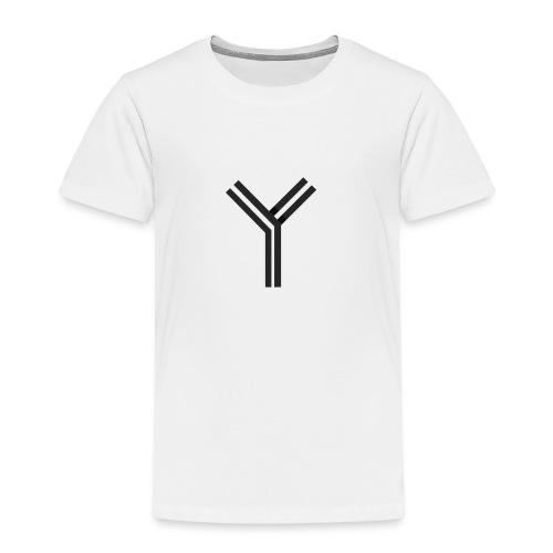 YTEE - Premium-T-shirt barn
