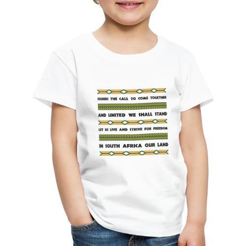 South Africa Anthem - Kids' Premium T-Shirt