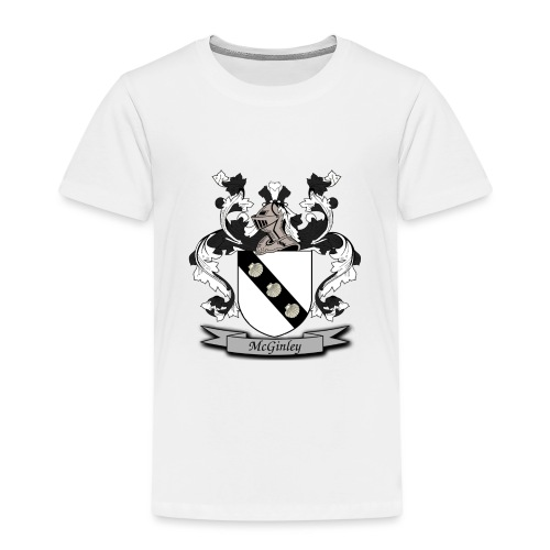 McGinley Family Crest - Kids' Premium T-Shirt