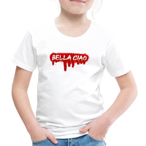 00288 Bella ciao rojo - Camiseta premium niño