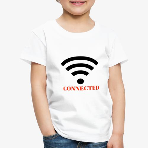 CONNECTED - Premium-T-shirt barn