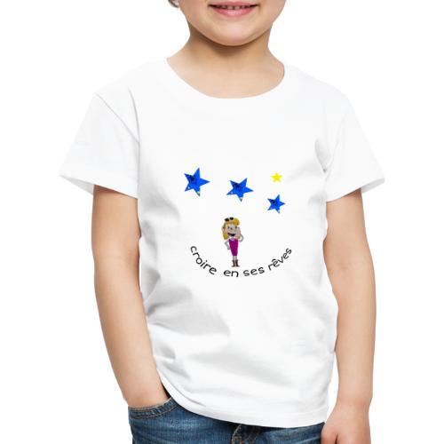 La tête dans les étoiles - T-shirt Premium Enfant