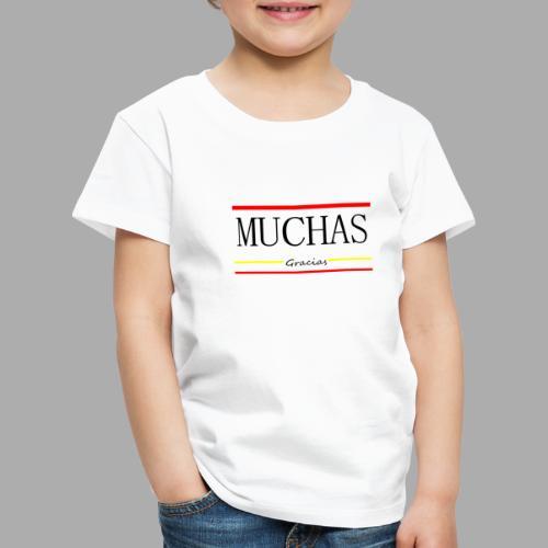 MUCHAS GRACIAS - Trend Eddition - Kids' Premium T-Shirt