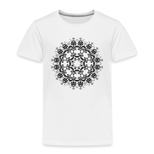 Floral Silhouette - Kinderen Premium T-shirt