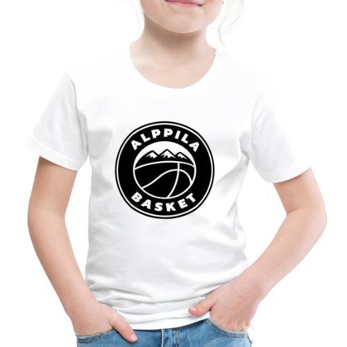 Alba, logotuote - Lasten premium t-paita