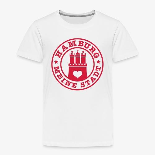 HAMBURG MEINE STADT Wappen 1c - Kinder Premium T-Shirt