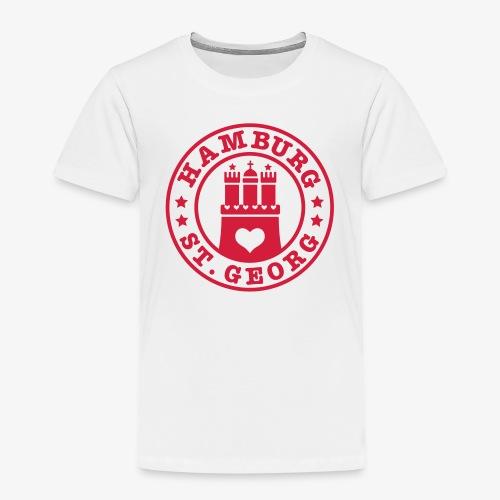 Ich liebe Hamburg Stadtteil St. Georg 1c - Kinder Premium T-Shirt