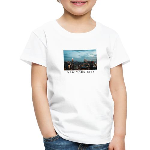 NEW YORK CITY, new york, new york photo, big city - Kids' Premium T-Shirt
