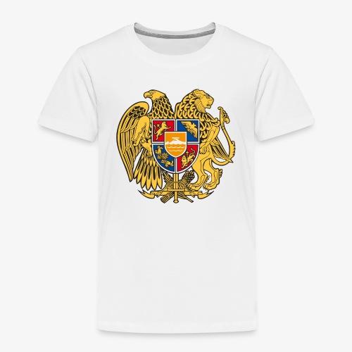 03 Armenien Wappen Armenia Армения T-Shirts - Kinder Premium T-Shirt