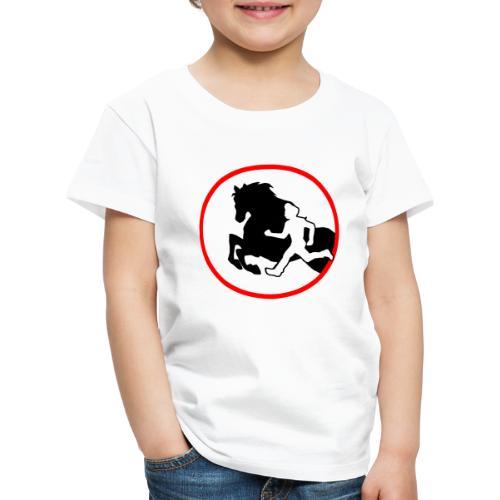 Horse Agility Logo - Kinder Premium T-Shirt