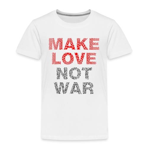 Liebe-Krieg - Kinder Premium T-Shirt