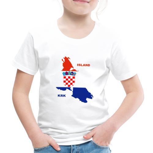 Krk Kroatien Adria Urlaub - Kinder Premium T-Shirt