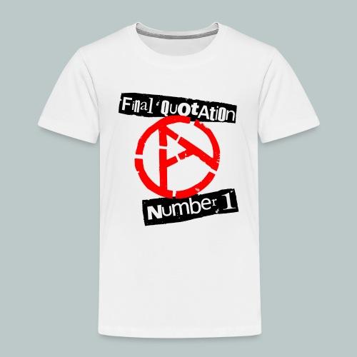 FINAL QUOTATION NUMBER 1 - Kids' Premium T-Shirt