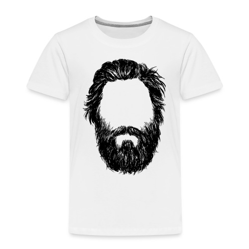 Head 2 HD png - Kinder Premium T-Shirt