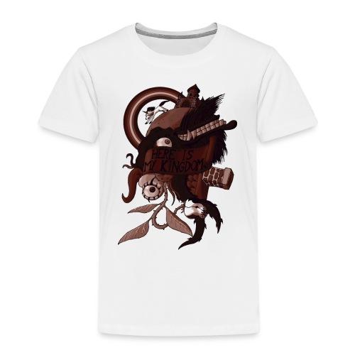 Here is my Kingdom(Sepia) - Männer - Kinder Premium T-Shirt