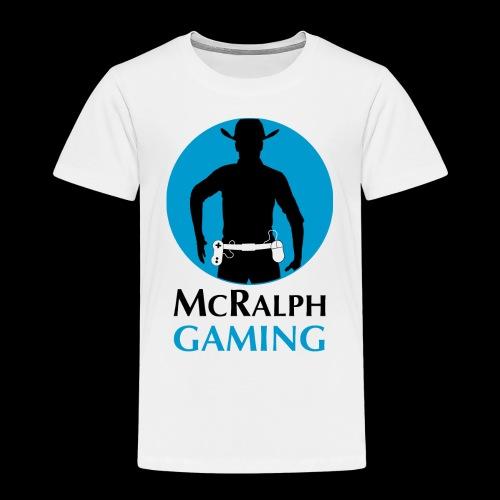 McRalph Gaming Logo 2 Bl - Kinder Premium T-Shirt