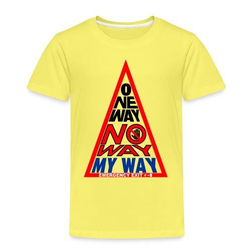 No way - Maglietta Premium per bambini