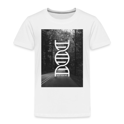 Fotoprint DNA Straße - Kinder Premium T-Shirt