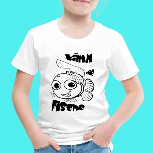 kämm die fische - Kinder Premium T-Shirt