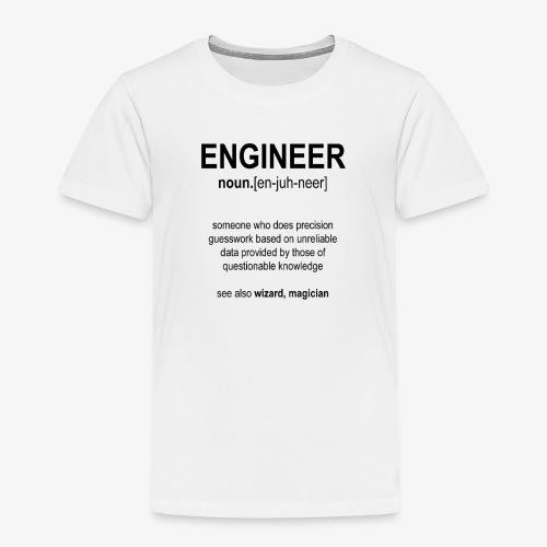 Engineer Def. 1 (Black) - T-shirt Premium Enfant