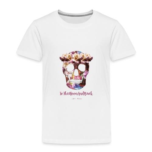 calaverfloreadafinal_4000 - Camiseta premium niño