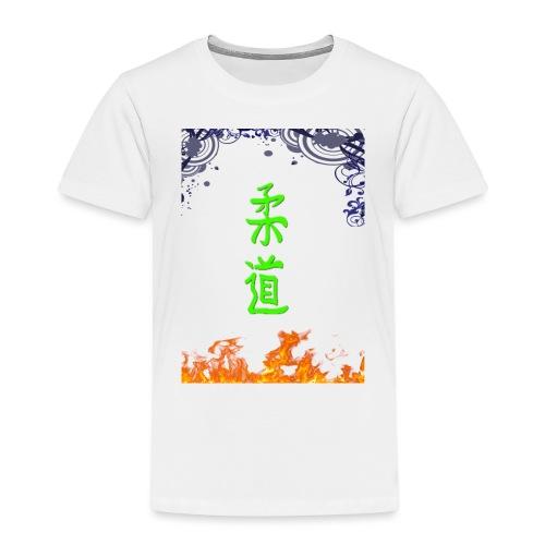 Judo On Fire - T-shirt Premium Enfant