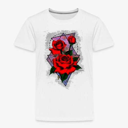 Flowers Geo - Kids' Premium T-Shirt