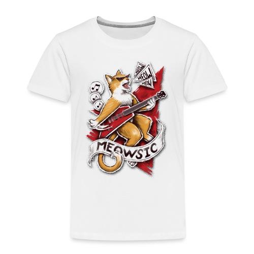 Meowsic - Kids' Premium T-Shirt