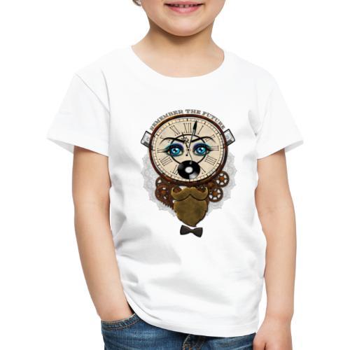 Remember the Futur 'pour couleur Foncée' - T-shirt Premium Enfant