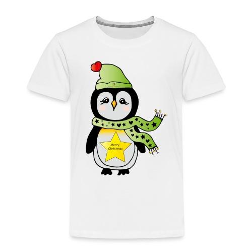 Christmas Pinguin - Kinder Premium T-Shirt