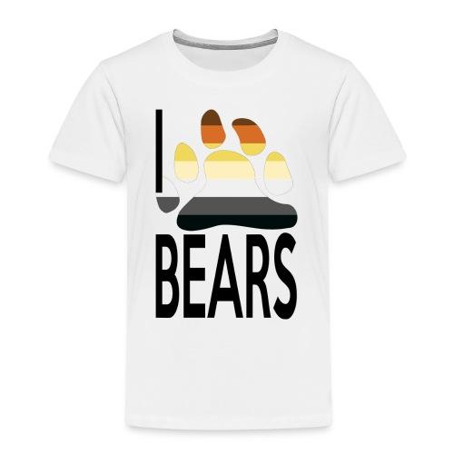 I love bears - T-shirt Premium Enfant