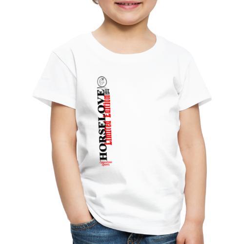 Horselove Limited Edtion Pferd Reiten - Kinder Premium T-Shirt