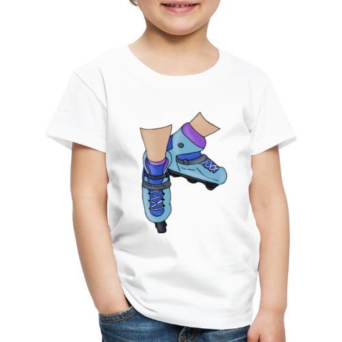 Rollerblade - Maglietta Premium per bambini