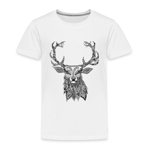 Ornate Buck Deer - Kids' Premium T-Shirt