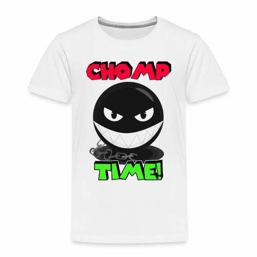 Chomp time - Camiseta premium niño