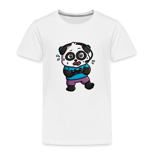 Noob Gamer Panda - Kids' Premium T-Shirt