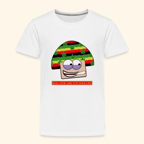 mushroom ganja-man - Maglietta Premium per bambini