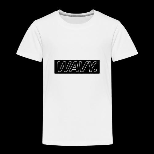 BLACK WAVY. RECTANGLE - T-shirt Premium Enfant