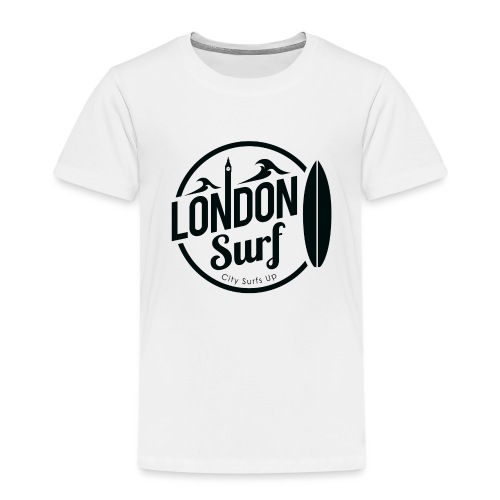 London Surf - Black - Kids' Premium T-Shirt