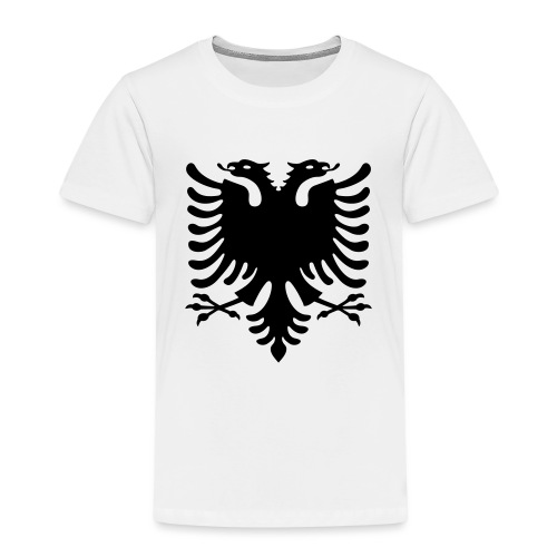 Albanische Flagge / Albanischer Adler / Shqiponja - Kinder Premium T-Shirt