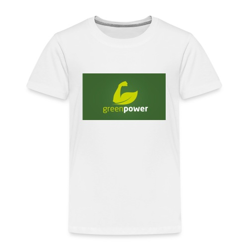 Green Power fitness logo - Kids' Premium T-Shirt