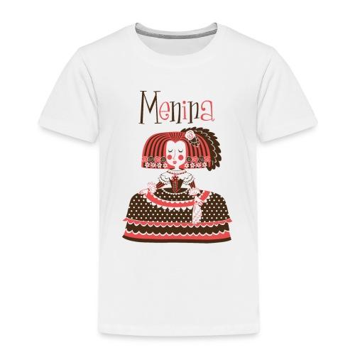MENINA - Camiseta premium niño