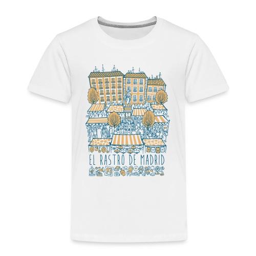 EL RASTRO DE MADRID - Camiseta premium niño