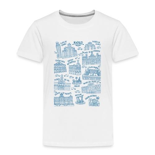 MADRID MONUMENTAL - Camiseta premium niño