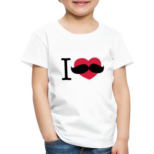 I Love Movember - Kids' Premium T-Shirt
