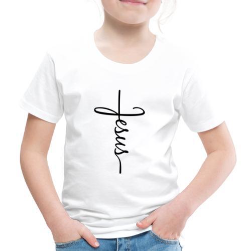 Jesus Kors - Børne premium T-shirt