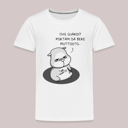 drunk_Hamster - Maglietta Premium per bambini