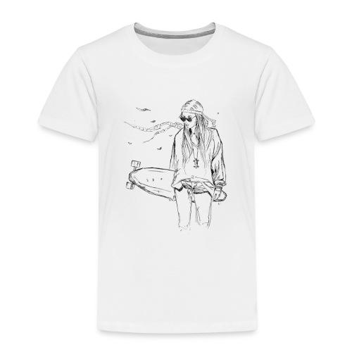 Longboardgirl - Kinder Premium T-Shirt