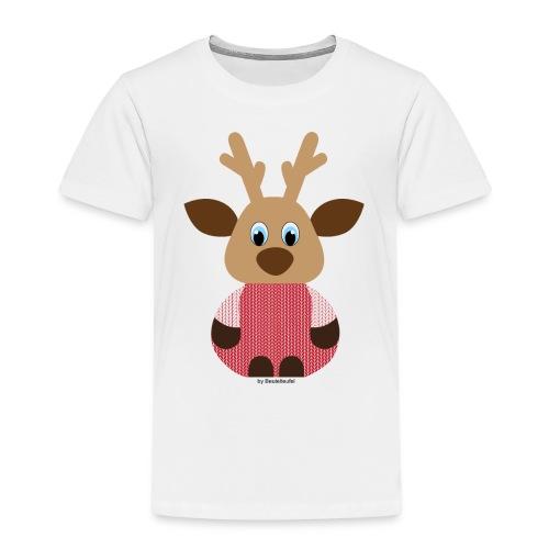 Elch Strick - Kinder Premium T-Shirt